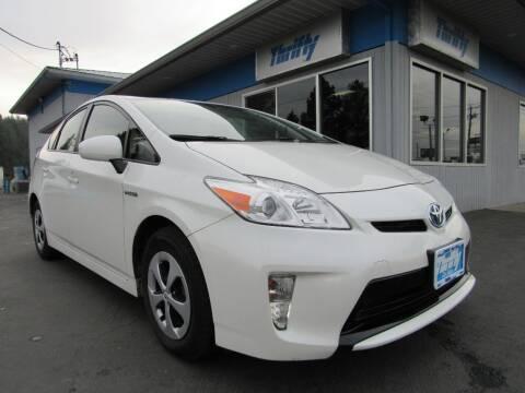 2013 Toyota Prius for sale at Thrifty Car Sales SPOKANE in Spokane Valley WA