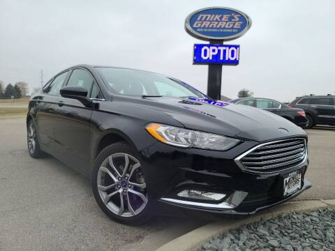 2017 Ford Fusion for sale at Monkey Motors in Faribault MN