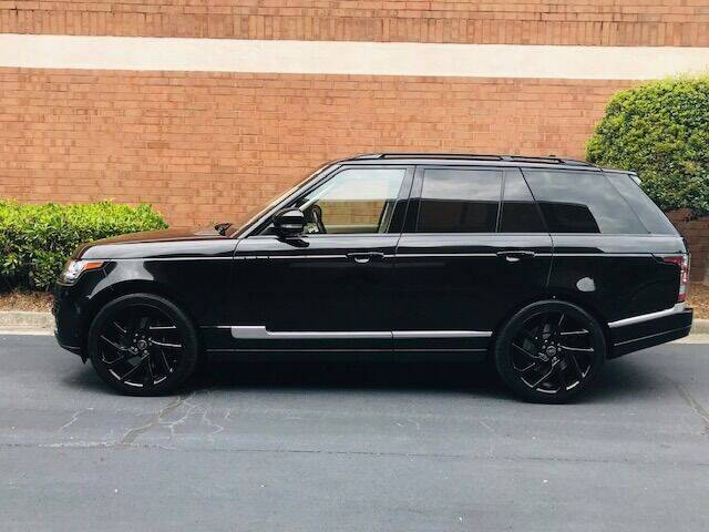 2016 Land Rover Range Rover for sale at RPM Motorsports Of Atlanta in Atlanta GA