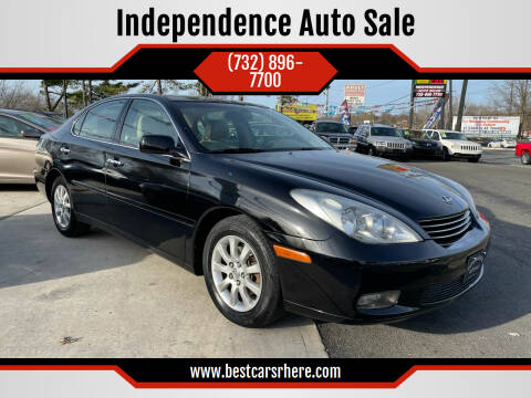 2003 Lexus ES 300 for sale at Independence Auto Sale in Bordentown NJ