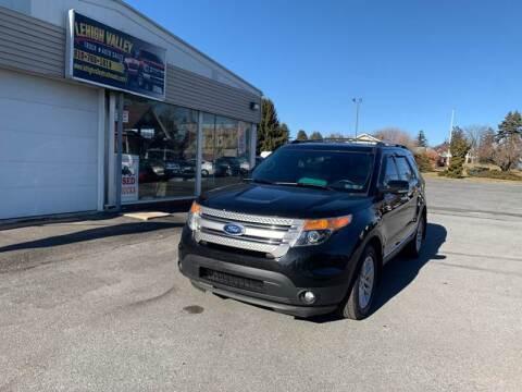 2013 Ford Explorer for sale at Lehigh Valley Truck n Auto LLC. in Schnecksville PA