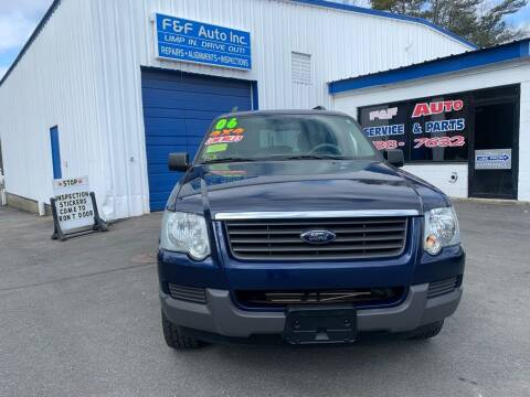2006 Ford Explorer for sale at F&F Auto Inc. in West Bridgewater MA