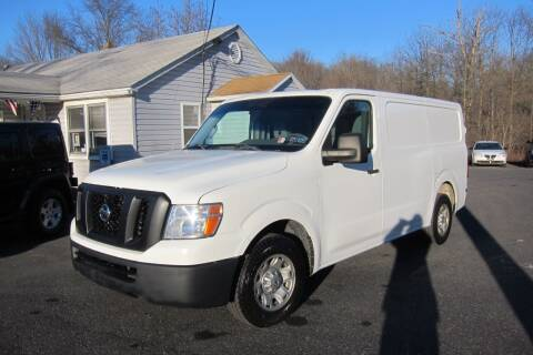 2012 Nissan NV Cargo for sale at K & R Auto Sales,Inc in Quakertown PA