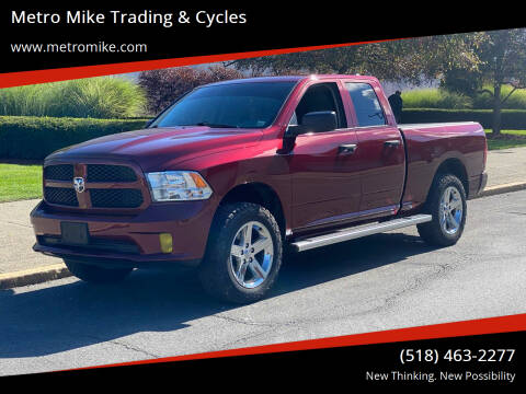 2018 RAM Ram Pickup 1500 for sale at Metro Mike Trading & Cycles in Albany NY