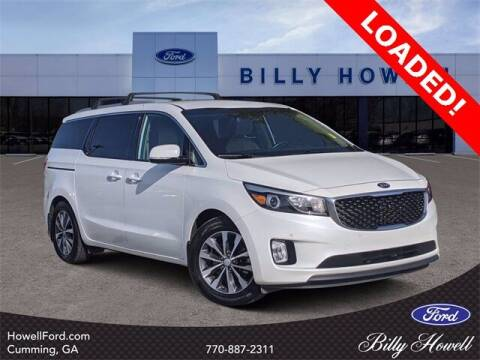 2017 Kia Sedona for sale at BILLY HOWELL FORD LINCOLN in Cumming GA