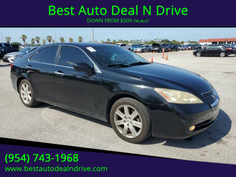2008 Lexus ES 350 for sale at Best Auto Deal N Drive in Hollywood FL