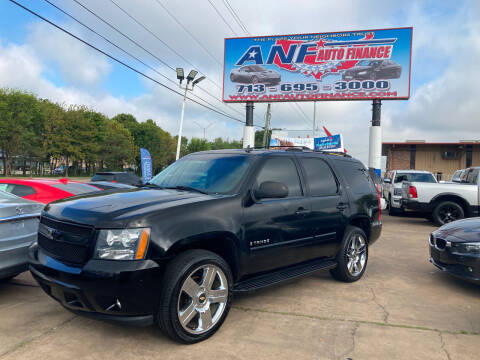 2007 Chevrolet Tahoe for sale at ANF AUTO FINANCE in Houston TX