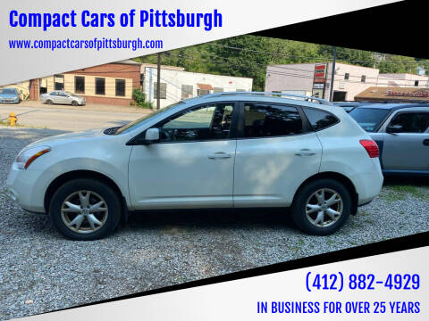 2009 Nissan Rogue for sale at Compact Cars of Pittsburgh in Pittsburgh PA