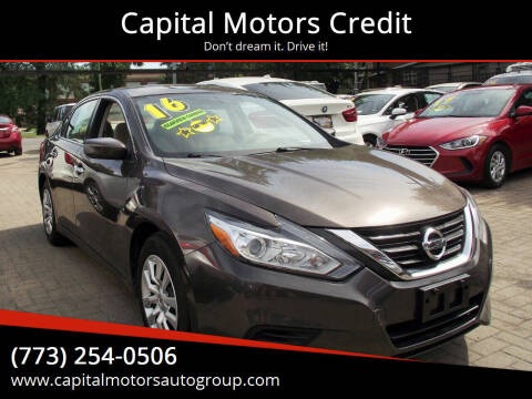 2016 Nissan Altima for sale at Capital Motors Credit, Inc. in Chicago IL