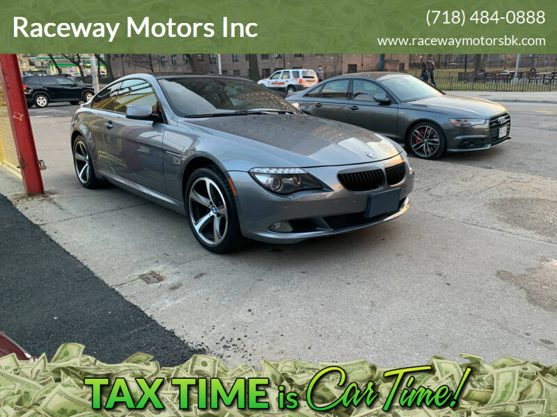 2009 BMW 6 Series for sale at Raceway Motors Inc in Brooklyn NY