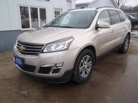 2017 Chevrolet Traverse for sale at Wieser Auto INC in Wahpeton ND