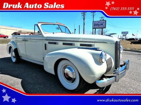1940 Cadillac LaSalle for sale at Druk Auto Sales in Ramsey MN