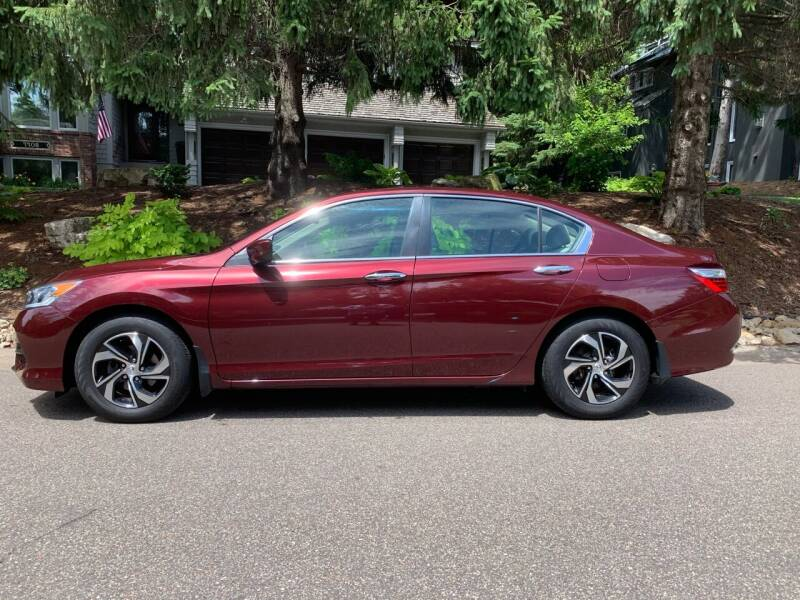 2016 Honda Accord for sale at You Win Auto in Metro MN
