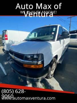2015 Chevrolet Express Passenger for sale at Auto Max of Ventura in Ventura CA