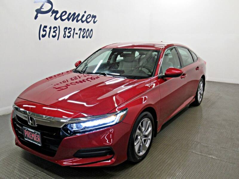 2018 Honda Accord for sale at Premier Automotive Group in Milford OH