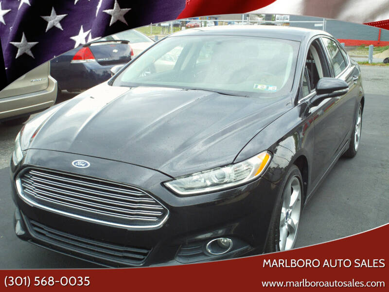 2014 Ford Fusion for sale at Marlboro Auto Sales in Capitol Heights MD