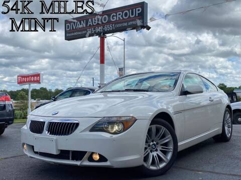2006 BMW 6 Series for sale at Divan Auto Group in Feasterville PA