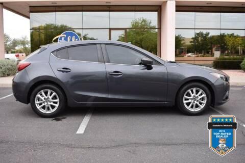 2015 Mazda MAZDA3 for sale at GOLDIES MOTORS in Phoenix AZ