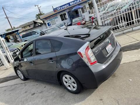 2012 Toyota Prius for sale at Olympic Motors in Los Angeles CA