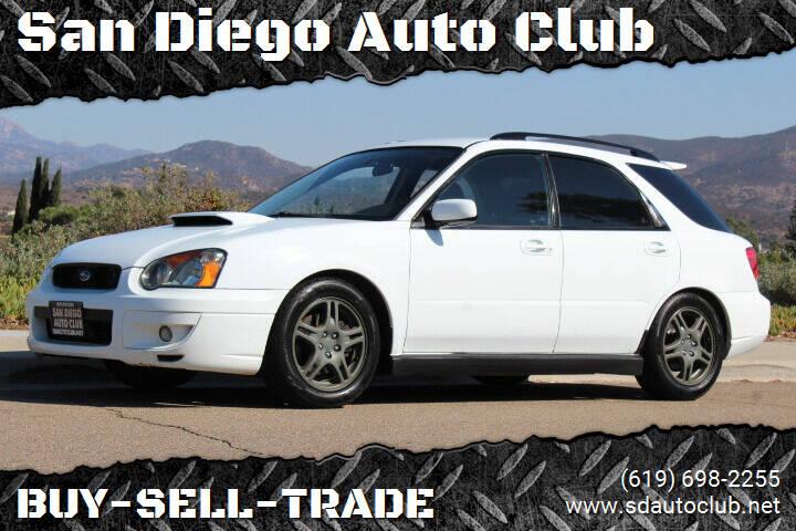 2004 Subaru Impreza for sale at San Diego Auto Club in Spring Valley CA