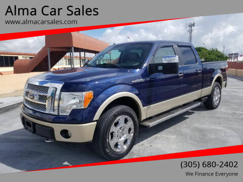 2010 Ford F-150 for sale at Alma Car Sales in Miami FL