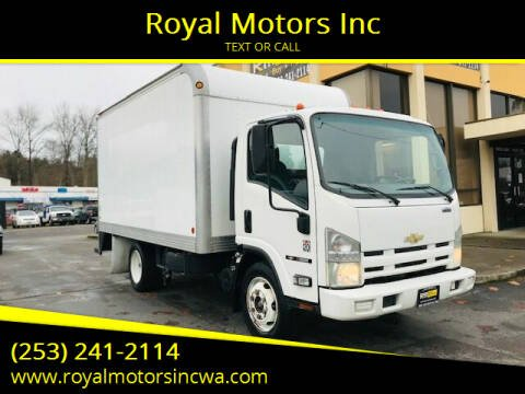 2009 Chevrolet W5500 for sale at Royal Motors Inc in Kent WA