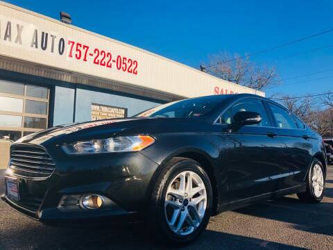 2013 Ford Fusion for sale at Trimax Auto Group in Norfolk VA