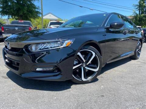 2020 Honda Accord for sale at iDeal Auto in Raleigh NC