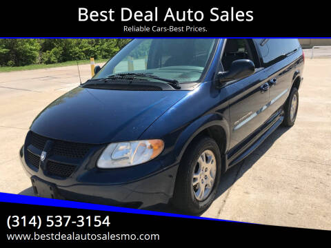 2002 Dodge Grand Caravan for sale at Best Deal Auto Sales in Saint Charles MO