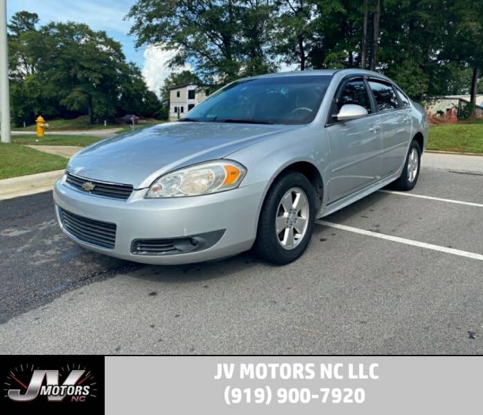 2010 Chevrolet Impala for sale at JV Motors NC LLC in Raleigh NC