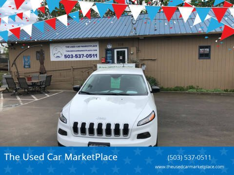 2017 Jeep Cherokee for sale at The Used Car MarketPlace in Newberg OR
