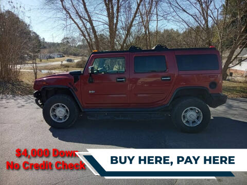 2003 HUMMER H2 for sale at BP Auto Finders in Durham NC
