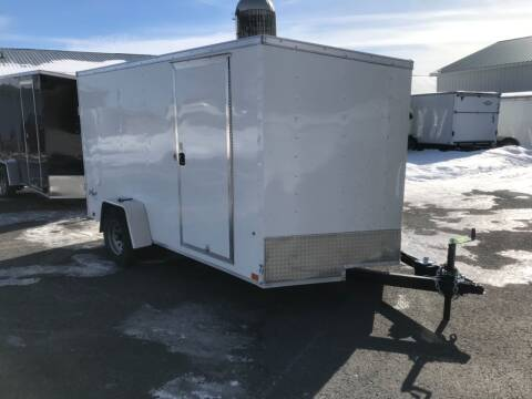 2022 Pace American 7x12 V-Nose Single 5K Axle