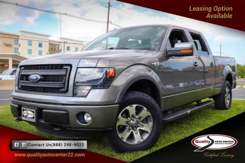 2014 Ford F-150 for sale at Quality Auto Center in Springfield NJ