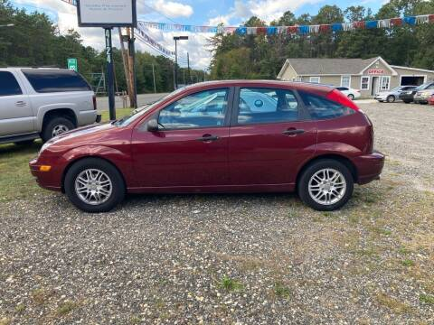 2006 Ford Focus for sale at MIKE B CARS LTD in Hammonton NJ