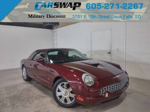 2004 Ford Thunderbird for sale at CarSwap in Sioux Falls SD