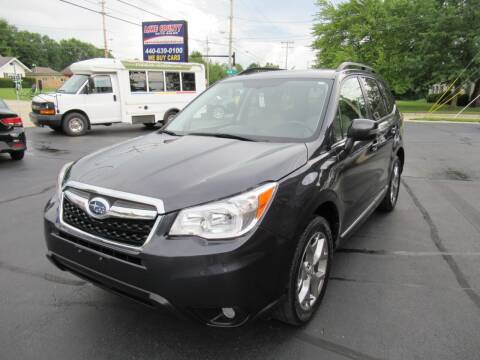 2016 Subaru Forester for sale at Lake County Auto Sales in Painesville OH