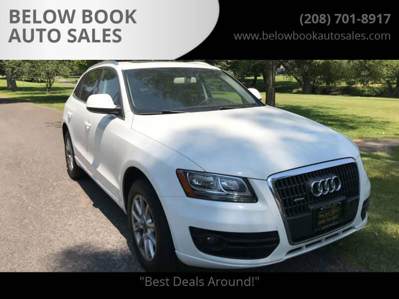 2012 Audi Q5 for sale at BELOW BOOK AUTO SALES in Idaho Falls ID
