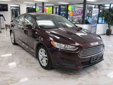 2013 Ford Fusion for sale at Dealer One Auto Credit in Oklahoma City OK