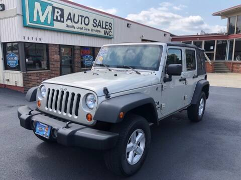 2007 Jeep Wrangler Unlimited for sale at MR Auto Sales Inc. in Eastlake OH