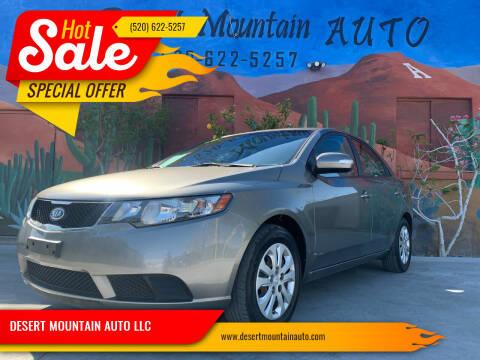 2010 Kia Forte for sale at DESERT MOUNTAIN AUTO LLC in Tucson AZ