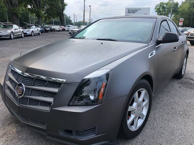 2008 Cadillac CTS for sale at Atlantic Auto Sales in Garner NC
