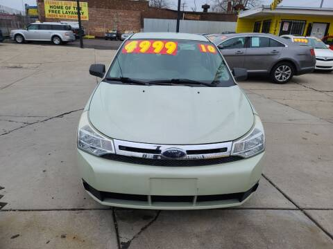 2010 Ford Focus for sale at Frankies Auto Sales in Detroit MI