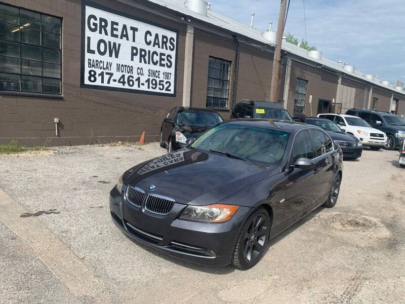 2006 BMW 3 Series for sale at BARCLAY MOTOR COMPANY in Arlington TX