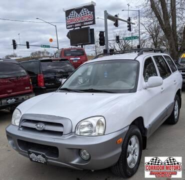 2005 Hyundai Santa Fe for sale at Corridor Motors in Cedar Rapids IA