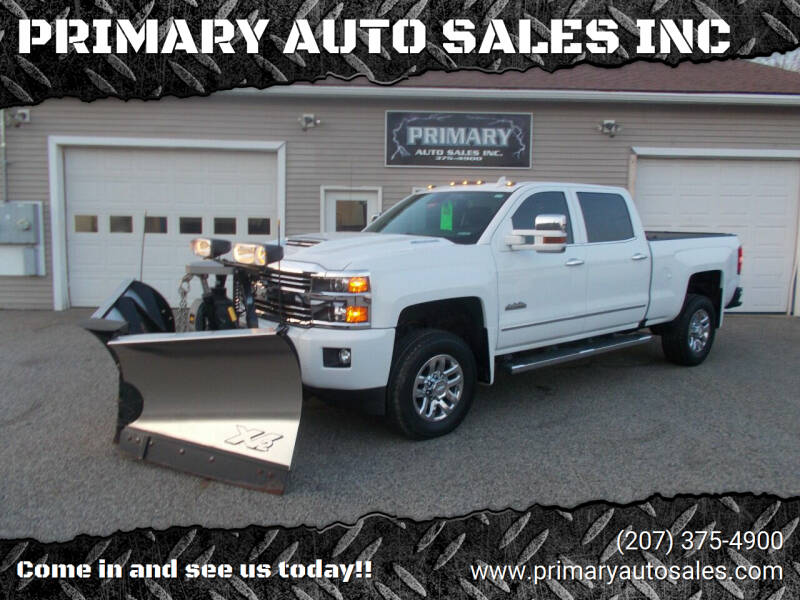 2017 Chevrolet Silverado 3500HD 4x4 High Country 4dr Crew Cab SRW - Sabattus ME