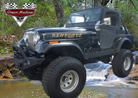 1981 Jeep CJ-5 for sale at Dream Machines USA in Lantana FL