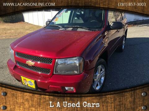 2007 Chevrolet TrailBlazer for sale at L A Used Cars in Abington MA