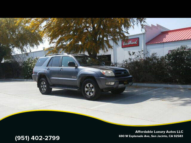 2004 Toyota 4Runner for sale at Affordable Luxury Autos LLC in San Jacinto CA