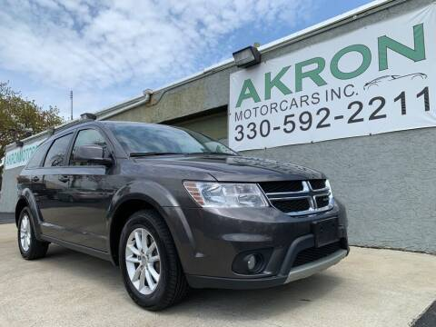 2017 Dodge Journey for sale at Akron Motorcars Inc. in Akron OH